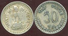 INDE  50   paise 1973 ( bis )
