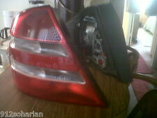 2000 MERCEDES BENZ W220 RIGHT  & LEFT REAR TAILLIGHT LENSES USED GOOD CONDITION