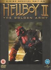 HELLBOY 2 - THE GOLDEN ARMY. 2-Disc Special Edition. Ron Perlman (2xDVD 2008)