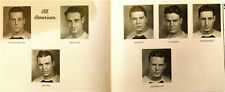 """1936 University of NOTRE DAME YEARBOOK """"The DOME"""" ALL-AMERICANS (see below)"""