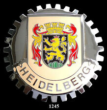 CAR  GRILLE  BADGES - GERMANY(HEIDELBERG)