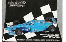 MINICHAMPS BENETTON Playlife B200 Jenson Button 1st Test Jerez 1995 Ltd Ed 1/43