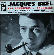 """JACQUES BREL """"LES BOURGEOIS""""  45T   4 TITRES"""