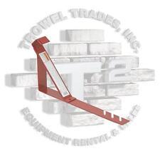 "Qual Craft 2504 Roof Bracket 6"" x 45 Degree Fixed Roof Bracket 2x6 Plank"