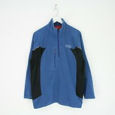 Mens Craghoppers Bear Grylls Adventure Outdoor Overhead Fleece Top Blue M Medium