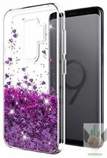 Samsung Galaxy S9 Plus Case Luxury Fashion Design Roses Glitter TPU Bumper Cover