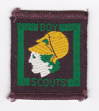 1940's UNITED KINGDOM SCOUTS -  BRITISH SENIOR SCOUT CRAFTSMAN Proficiency Badge