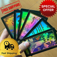 Holographic Glowing Shining Tarrot Tarot Future Telling Trick Deck of 78 Cards