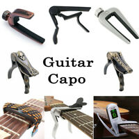 Guitar Capo Quick Change Clamp Key for Classical Acoustic Electric Bass Guitar