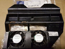 MERCEDES CLASSE C CLK W203 C209 AUDIO ventole di raffreddamento & Alloggiamento Originale 2036802714