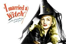 I Married A Witch FRIDGE MAGNET (2 x 3 inches)(AD)