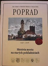 RARE Poprad History of the Town on Old Postcards 1256-2006 Czechoslovakia Gaspar