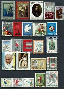 POLAND..COLLECTION ...10 PAGES ,  200 PLUS STAMPS
