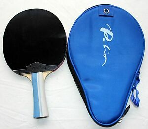 Palio Legend 4x carbon layers Table Tennis Bat with Free Case, New, US