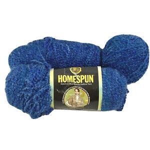 Lot 19 oz Lion Brand Homespun Yarn Color #368 MONTANA SKY Weight #5 Bulky