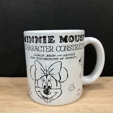New listing Disney Parks Minnie Mouse Character Construction White Coffee or Tea Mug/Cup