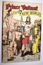 Hal Foster Prince Valiant In the New World Hardcover  DJ  HB  1976