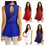 Women's Mesh Splice Figure Ice Skating Roller Skating Ballet Dance Leotard Dress