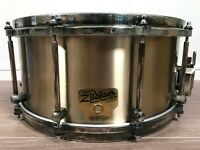 Noble & Cooley Genuine Zildjian Alloy Snare Drum 6.5 x 14 Used Junk Repair Base