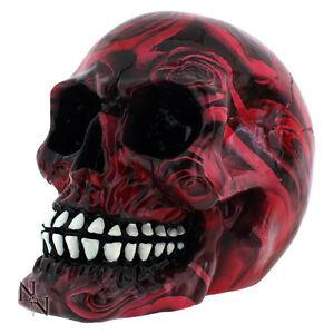 Totenkopf Schädel Totenköpfe Gothic Skull Dekoration Larp 8cm Mystik Deko NEU