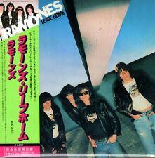 Ramones-Leave Home CD (1977) RARE JAPON-IMPORT + OBI + 15 bonus-TRACKS!!!