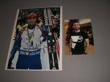 Michal Slesingr Tschechien Biathlon signiert signed Autogramm auf 20x28 Foto