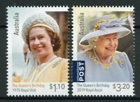 Australia Royalty Stamps 2020 MNH Queen Elizabeth II Birthday Royal Ascot 2v Set