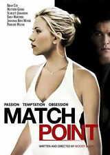 MATCH POINT Movie POSTER 27x40 F Scarlett Johansson Jonathan Rhys-Meyers Emily