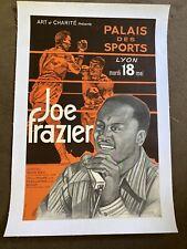 Original Vintage Joe Frazier Boxing Poster
