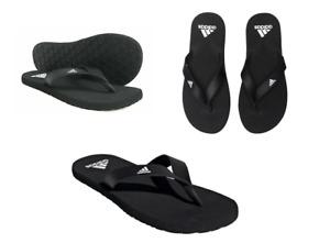 New Adidas Men's Flip flops/ black/ eezay flip flops/ beach/ pool/ soft/