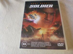 Soldier (DVD, 2000) Region 4 Double Sided Disc Kurt Russell