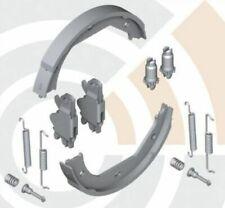 BMW Rear Hand Park Brake Lining Shoes Set 4 Cyl E46 E81 E82 E87 E88 E90 2213310