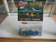 Revell '61 CHevy Impala in Blue on 1:64 on Blister