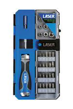 LA6992 - Laser Tools Ratchet Bit and Socket Set  33pc