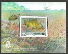 Namibia - Süßwasserfische Block 14 postfrisch 1992 Mi. 721