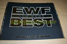 EWF Earth Wind & Fire France Sony CD The Very Best 18 Tracks