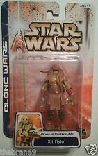 """Star Wars Kit Fist {Army of the Republic} '03/#49 Clone Wars 3.75"""" Action Figure"""