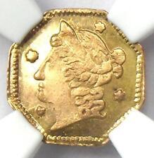 1854 Liberty 25C California Gold Quarter BG-104. NGC MS64 (BU UNC) - $1000 Value