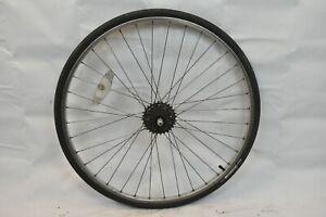 """Araya 27"""" Rear Road Bike Wheel Suzue Hub OLW125 17mm 36S AV Silver USA Charity!!"""