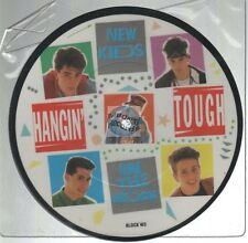 "NKOTB New Kids On The Block Hangin' Touch 45t 7"" picture disc"