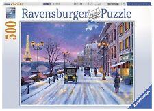 Ravensburger Puzzle - Winter in Paris - Christmas puzzle - 500 Pieces - 14741