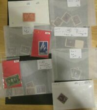 Canada COLLECTION LOT in Stockcards and Glassines DESK SWEEPINGS 15 HIGH CV