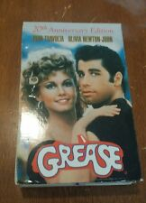 GREASE 20TH ANNIVERSARY (1998 VHS) WITH SCRIPT- NO CD