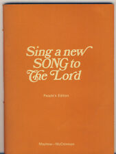 Sing A New Song To The Lord - People's Edition Kevin Mayhew 1970 Song Paperback