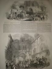 Judges Circuit Lincoln and Oxford Assizes 1845 prints ref D