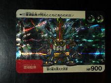 SD GUNDAM SUPER DEFORMED CARD CARDDASS PRISM CARTE 177 BANDAI JAPAN 1991 G+>EX+