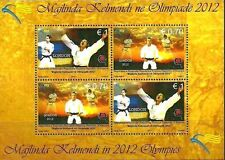 Kosovo Stamps 2012. Olympic Games - London. Majlinda Kelmendi. Souvenir sheet