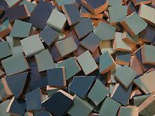 New listing Shades Of Blue 250 Broken China Mosaic Plate Tiles
