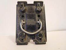 VINTAGE WADSWORTH 30 Amp Fuse Holder Pull Out -   (See Desc)