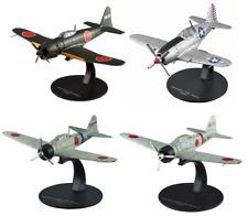 Lot de 4 Avions Japonais Mitsubishi WW2 - 1/72 militaire diecast DeAgostini